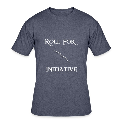 Roll For Initiative - Bow - Men's 50/50 T-Shirt