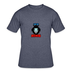 I am the King Logo - Men's 50/50 T-Shirt