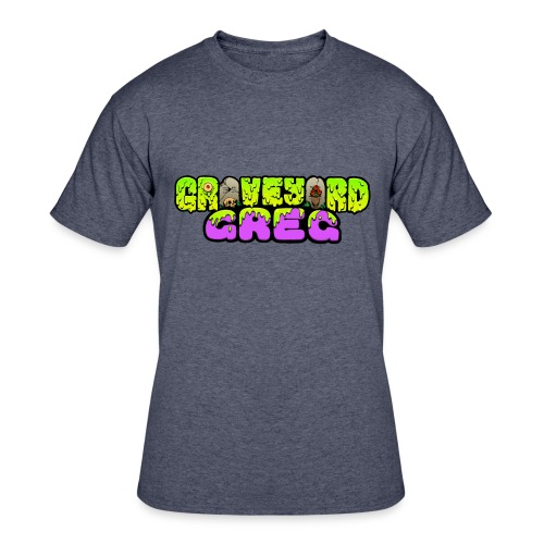 Graveyard Greg Logo! - Men's 50/50 T-Shirt