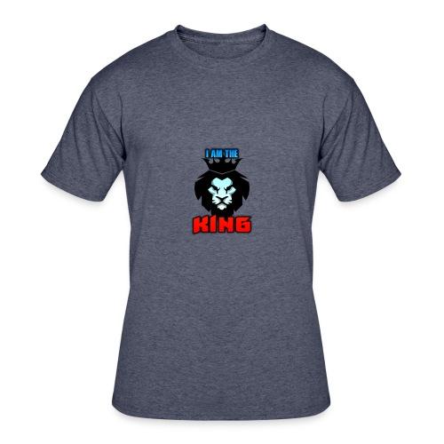I am the King Logo - Men's 50/50 T-Shirt