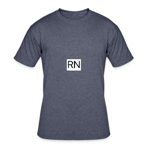 RN_Logo_small - Men's 50/50 T-Shirt
