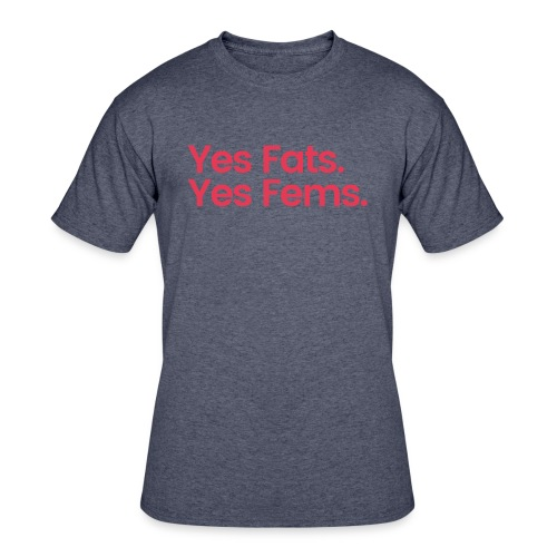 Beyr and Cubb Fats and Fems. - Men's 50/50 T-Shirt