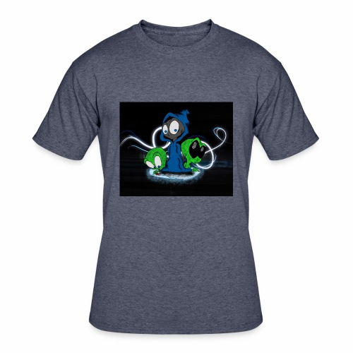 Alien Face - Men's 50/50 T-Shirt