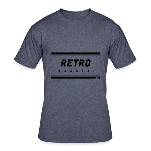Retro Modules - Men's 50/50 T-Shirt