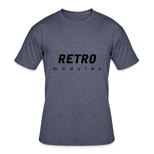 Retro Modules - sans frame - Men's 50/50 T-Shirt