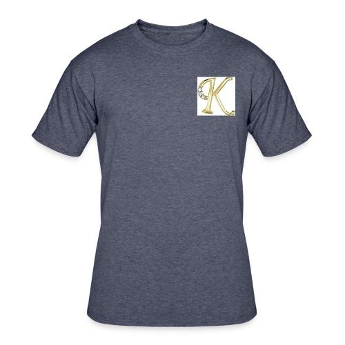 big gold K - Men's 50/50 T-Shirt