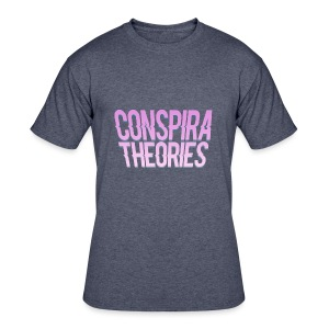 Women's - ConspiraTheories Official T-Shirt - Men's 50/50 T-Shirt