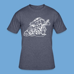 White's Pit Stop - White. - Men's 50/50 T-Shirt