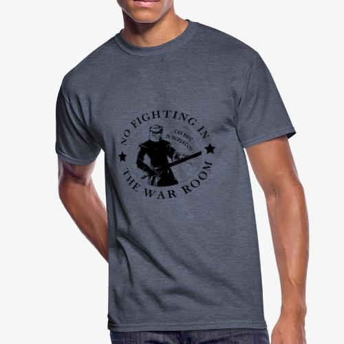 The Black Knight - Motto - Men's 50/50 T-Shirt