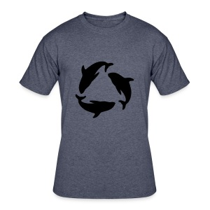 recycle - Men's 50/50 T-Shirt