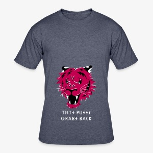 This Pussy Grabs Back - Men's 50/50 T-Shirt