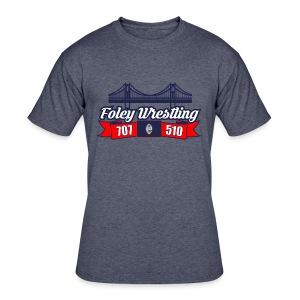 Foley Wrestling - Men's 50/50 T-Shirt