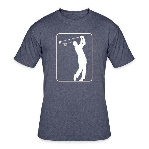 Golf Shot Shit. - Men's 50/50 T-Shirt