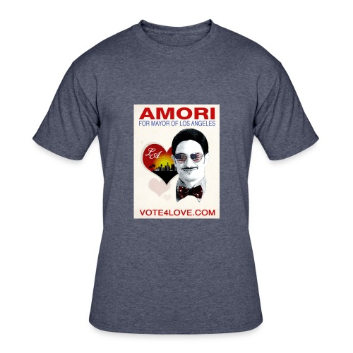 Amori for Mayor of Los Angeles eco friendly shirt - Men's 50/50 T-Shirt
