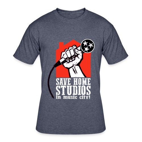 Save Home Studios In Music City - Men's 50/50 T-Shirt