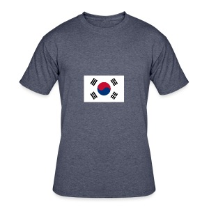 Flag of South Korea - Men's 50/50 T-Shirt