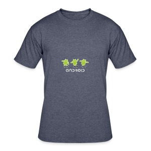 android logo T shirt - Men's 50/50 T-Shirt