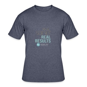 Real Science Real Results Nerium - Men's 50/50 T-Shirt