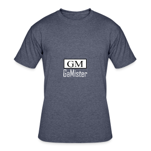 gamister_shirt_design_1_back - Men's 50/50 T-Shirt