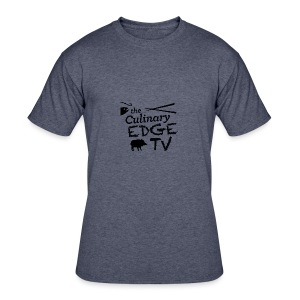 CETV Black Signature - Men's 50/50 T-Shirt