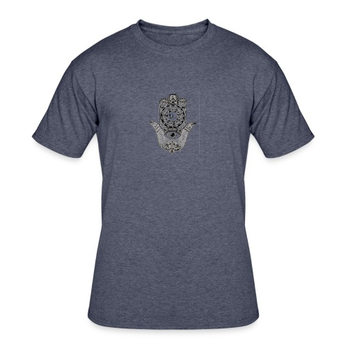 Ezina Hamsa Design - Men's 50/50 T-Shirt