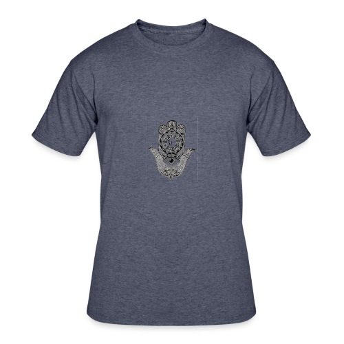 Ezina Hamsa Design - Men's 50/50 T-Shirt