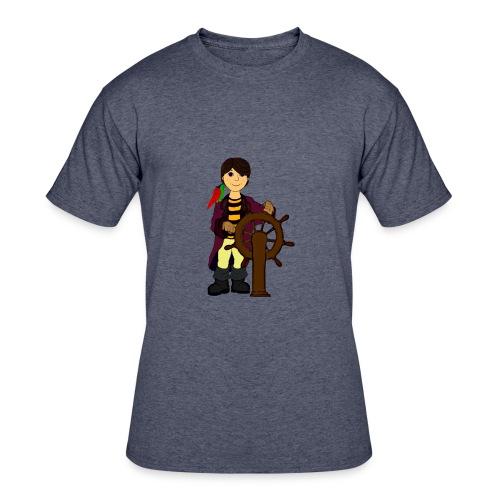 Alex the Great - Pirate - Men's 50/50 T-Shirt