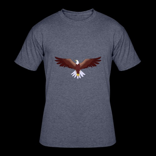 Eagle Logo - Men's 50/50 T-Shirt