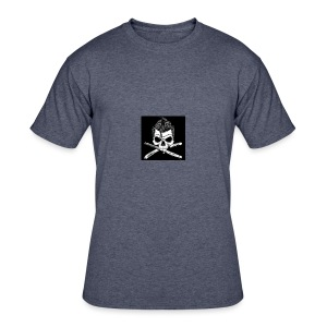 Greaser skull - Men's 50/50 T-Shirt