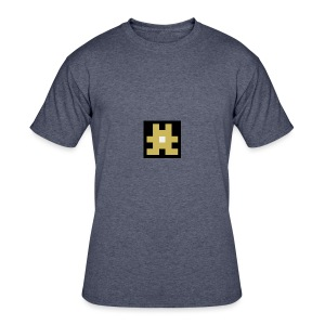 YELLOW hashtag - Men's 50/50 T-Shirt