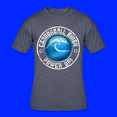Vintage Tsunami Power-Up Tee - Men's 50/50 T-Shirt