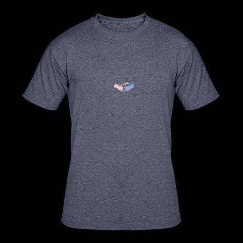 Black T-Shirt - Seventeen - Men's 50/50 T-Shirt