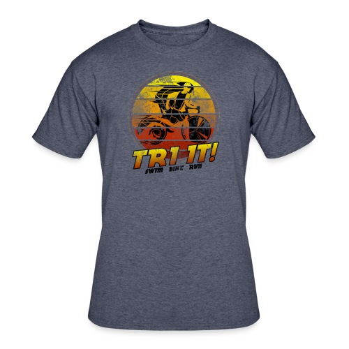 Tri It - Men's 50/50 T-Shirt