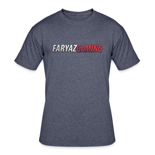 FaryazGaming Text - Men's 50/50 T-Shirt