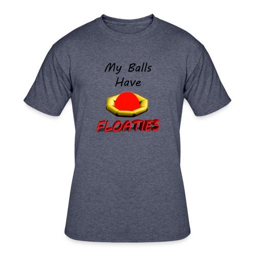 My Balls Have Floaties - Men's 50/50 T-Shirt