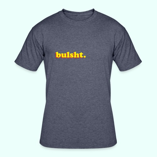 BulSht. Logo - Men's 50/50 T-Shirt