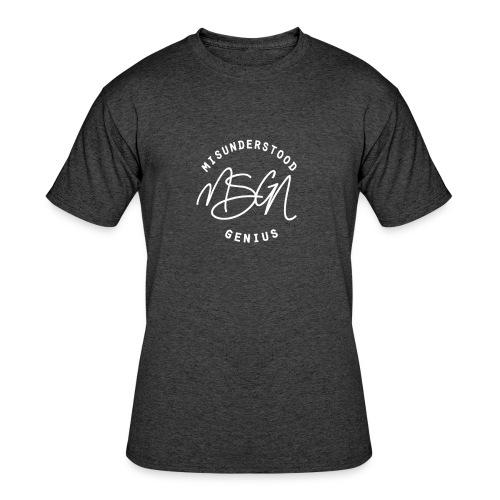 MSGN Logo - Men's 50/50 T-Shirt