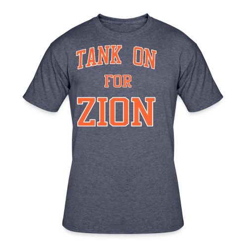 Tank On For Zion - Men's 50/50 T-Shirt