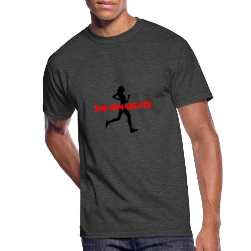 THE GYM BEATS - Music for Sports - Men's 50/50 T-Shirt