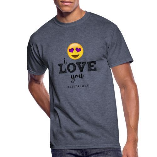 I LOVE you - Men's 50/50 T-Shirt