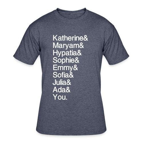 Women in Math (& You!) - Men's 50/50 T-Shirt