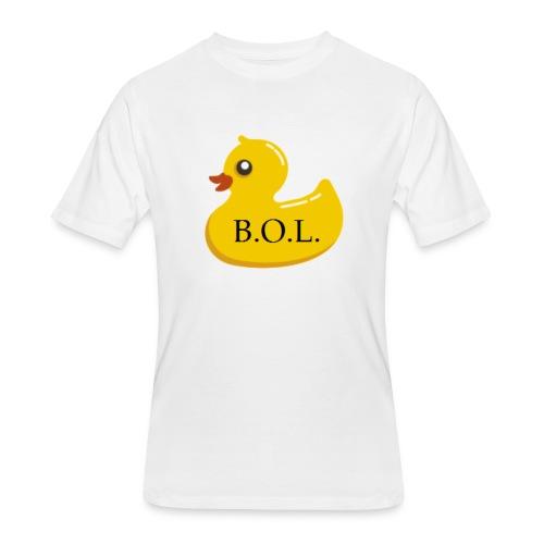 Official B.O.L. Ducky Duck Logo - Men's 50/50 T-Shirt
