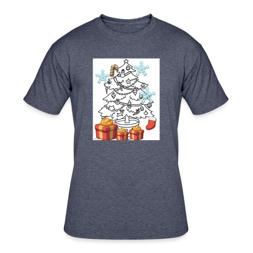 Christmas is here!! - Men's 50/50 T-Shirt