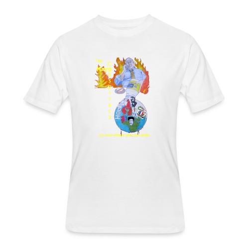 Mayo-Conspiracy - Men's 50/50 T-Shirt