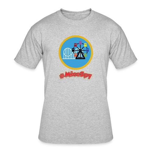 Paradise Pier Explorer Badge - Men's 50/50 T-Shirt