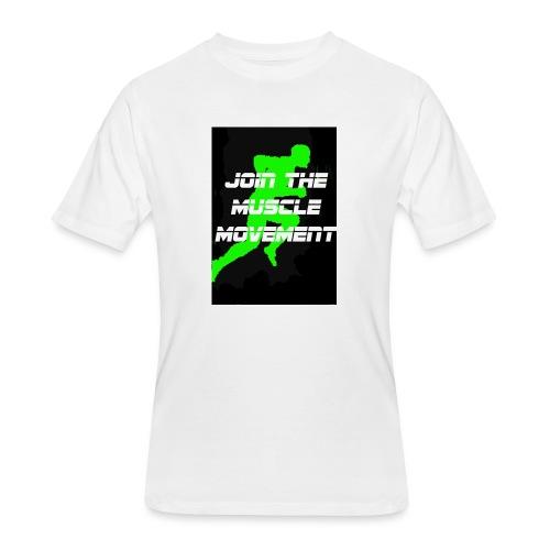 muscle movement - Men's 50/50 T-Shirt
