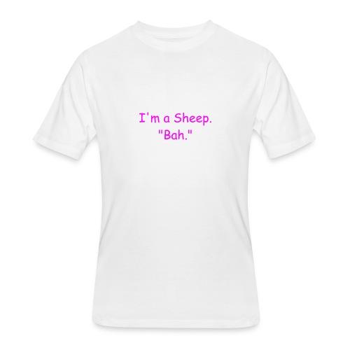 I'm a Sheep. Bah. - Men's 50/50 T-Shirt