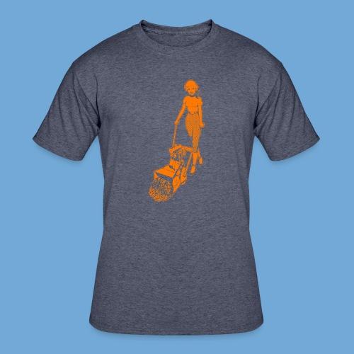 Roto-Hoe Orange - Men's 50/50 T-Shirt