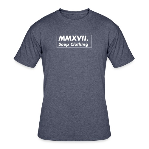 MMXVII png - Men's 50/50 T-Shirt