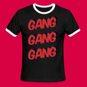 GANG GANG GANG - Men's Ringer T-Shirt